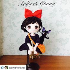 Aaliyah的作品太美了❤️❤️❤️ #Repost @aaliyahchang with @repostapp. ・・・ #Kiki's delivery service #魔女宅急便