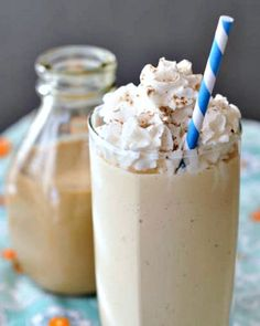 Salted Caramel Milkshake with Vegan Irish Creme - a sweet and salty dream of a milkshake, with homemade vegan Irish Creme - perfect for a snow day, or ANY day!