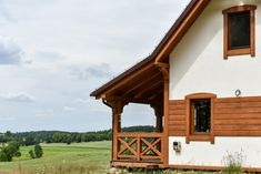 Dom drewniany LIBEREC I - Filian Domy Drewniane Home Fashion, Cabin, House Styles, Home Decor, Decoration Home, Room Decor, Cabins, Cottage, Home Interior Design