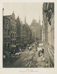 Danzig, Beautiful Buildings, Beautiful Places, Germany And Prussia, Old Postcards, Krakow, Kirchen, Old Town, Funny Pictures