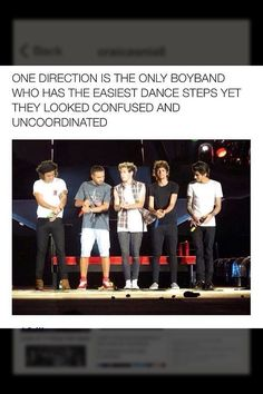 Oh, boys, my boys, all of the directioners boys!