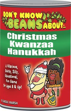Don't Know Beans About…Christmas, Kwanzaa & Hanukkah game for the classroom