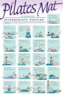 Pilates for Lean body-Intermediate