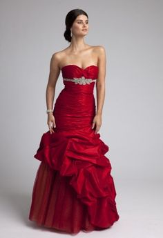 Prom Dresses 2013 - Strapless Ruched Bodice Mermaid Prom Dress from Camille La Vie and Group USA