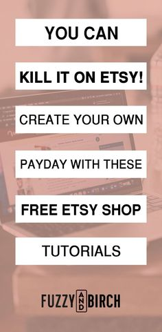 Free is an awesome place to start if you're starting an Etsy business. My Etsy shop did so well that I opened up another one! These Etsy success tutorials have been tried and tested over and over again, so you know they will work on your shop as well! #etsyshop #bestetsy #etsysuccess #etsybusinessideas #howtoetsy