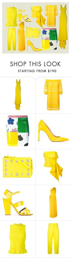 """""""Party Wear..**"""" by mkrish ❤ liked on Polyvore featuring STELLA McCARTNEY, Trina Turk, Jeremy Scott, Stuart Weitzman, Versus, Rubin Singer, Laurence Dacade, Dsquared2, 3.1 Phillip Lim and Sofie D'hoore"""