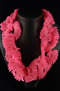 Barbie shoe necklace (450 doll shoes make up this piece). LOVE LOVE LOVE it!