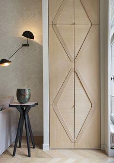 47 ideas double door design modern interior for 2019 Home Interior, Modern Interior, Interior Design, Home Bar Rooms, Armoire Ikea, Double Door Design, Interior Minimalista, Door Detail, Apartment Projects