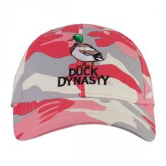 Duck Dynasty Pink Camo Hat