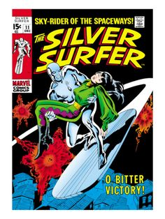 Marvel Comics Retro: Silver Surfer Comic Book Cover