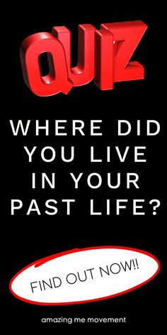 Take this super fun and interesting personality test to find out where you lived in your past life. I loved my results!! quiz posts|quizzes|fun quizzes|personality tests|playbuzz quizzes|buzzfeed quizzes|quizzes for fun|quiz questions and answers|personality quizzes|quizzes about yourself|past life quiz