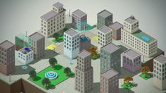 Image result for 3d infographic city