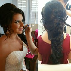 www.lilisweddings.com info@lilisweddings.com Wedding Makeup Artist, Tampa Bay, Wedding Hairstyles, Lily, Hair Styles, Weddings, Group, Hair Plait Styles, Hair Makeup