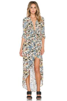 Knot Sisters Morrison Dress in Floral