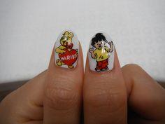 Haribo nail art
