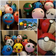 Pokemon party decorations #pokiballs