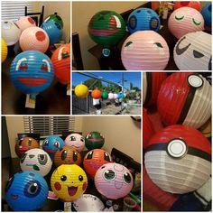 Pokemon party decorations #pokiballs