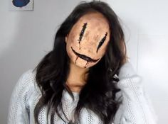 Ms. Smiley | 19 Creepy Halloween Makeup Tutorials That Will Haunt You
