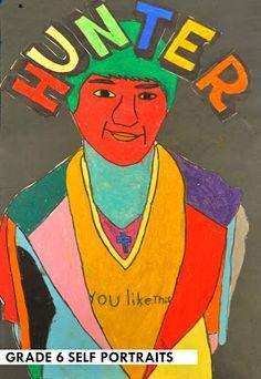 artisan des arts: end of year portraits - grade 6