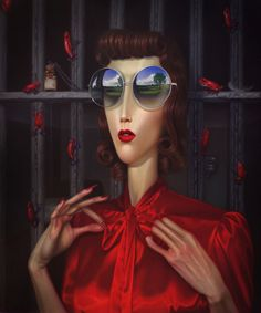 Troy Brooks, New Paintings. Recent, new paintings... - SUPERSONIC ART