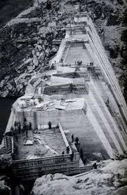 construcción presa