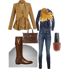 Classy Casual, created by szngarrett.polyvore.com