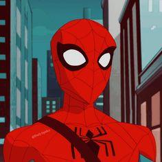 Miles Spiderman, Spiderman Art, Amazing Spiderman, Marvel Comics Art, Marvel Fan, Spider Man Animated Series, Best Marvel Characters, Marvel Tattoos, Man Icon