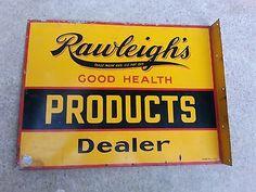 Rawleigh's Good Health Products Dealer sign