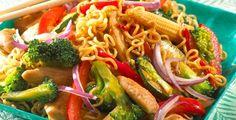Kylling i wok fra Kina