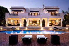 Luxury house in Marbella, Spain.