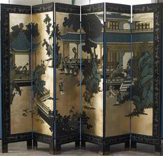 Ornate panelled screen I always wanted one of these
