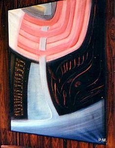 Ölgemälde v. Paul Maler, Ausstellung Sporthotel Quickborn