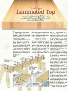 #407 Building Workbench Top - Workshop Solutions Plans, Tips and Tricks