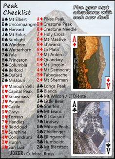 all 54 of Colorado's 14ers> a checklist. 5 down...