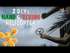 (1) How to make a Hand Helicopter - YouTube