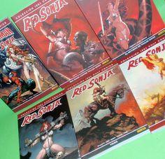 Lote de comics RED SONJA especiales 6 tomos Buen estado