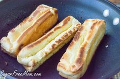 <em> Low Carb Hot Dog Rolls made with my <em class=short_underline>  Cloud Bread Loaf Recipe </em>! </em>   Summer time is all about convenience and stress free cooking! Grilling outside, pool parties, the beach and BBQ parties are all about easy foods to enjoy! And hot dogs are just one of the favorites at this time of year.   I can't tell you I'm a hot dog lover, but I can say every once in a while I'm in the mood for a hot dog. My po...