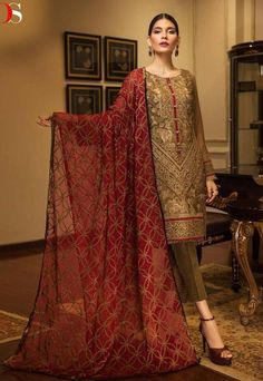 33b7e84635 Deepsy Imorzia Vol-7 Dress Material (7 Pcs Catalog) Pakistani Designer  Suits,