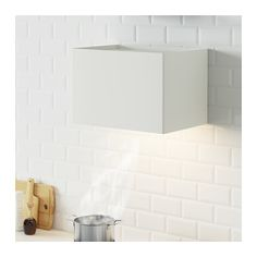IKEA Quality furniture at affordable prices. Find everything from smart storage solutions, mattresses, textiles, wardrobes to kitchens & more. Extractor Hood, White Art, Decoration, Kitchen Dining, Tile Floor, Appliances, New Homes, Modern, Storage