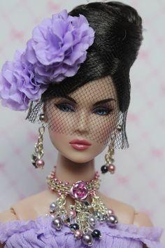 ensemble de bijoux de poupée pour poupée Barbie Fashion Royalty, Poppy Parker,
