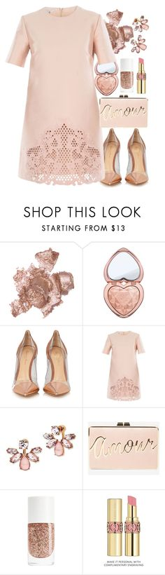 """So Pretty: Dreamy Dresses"" by forever-lovely ❤ liked on Polyvore featuring By Terry, Too Faced Cosmetics, Gianvito Rossi, STELLA McCARTNEY, Marchesa, BCBGMAXAZRIA, Yves Saint Laurent and dreamydresses"