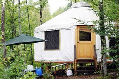 Do I want to go to a yurt!