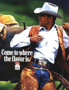 The adorably misunderstood orally fixated chaps wearing Marlboro Man. Marlboro Cowboy, Marlboro Red, I Quit Smoking, Man Smoking, Malboro, Nostalgia, Mustache Men, Cowboy Horse, Morris