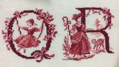 Ribbon Embroidery, Cross Stitch Embroidery, Cross Stitch Samplers, Cross Stitch Animals, Needle And Thread, Body Painting, Crochet, Needlework, Chiffon