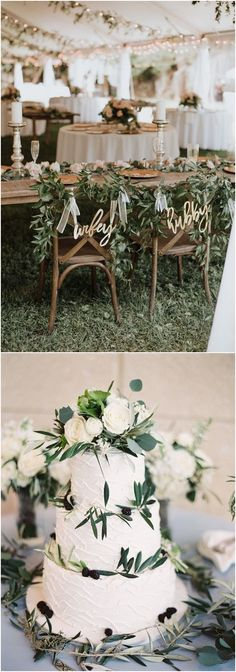 green neutral wedding color ideas #weddings #wedding #wedidngcolors #weddingideas #neutral #deerpearlflowers
