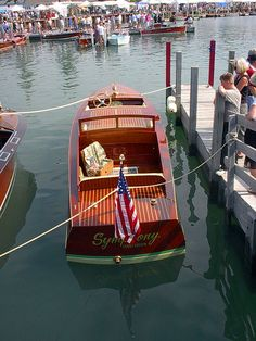 Symphony: at the Les Cheneaux Antique Boat Show at Hessel, Michigan.     So You Want To Be A Picker? Online Course -CLICK ON THE PICTURE ABOVE ^^^