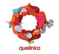Logotipo de Quelinka, agencia creativa.