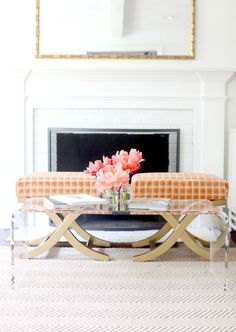 Love this DIY bench idea  Read More: http://www.stylemepretty.com/living/2013/06/17/how-to-makeover-an-x-bench/