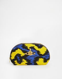 Vivienne Westwood Leopard Make Up Bag