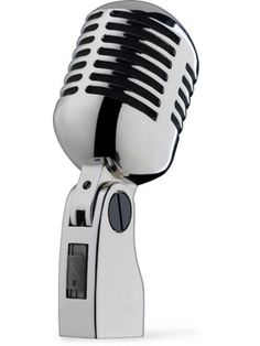 Retro/vintage microphone that would look great at your next party!